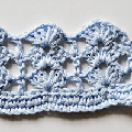 Crochet Stitch * Rows of Shells