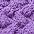 Strickmuster * Falsches Entrelac