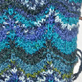Knitting Chevron stitch Missoni style