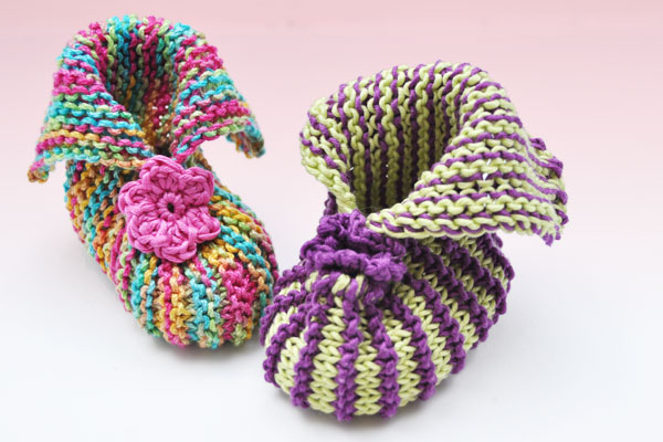 baby booties fr hling ostern stricken und h keln. Black Bedroom Furniture Sets. Home Design Ideas