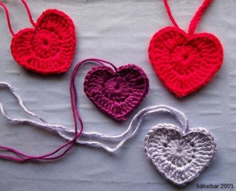 Tine Herzen Stricken Und Häkeln Mit Elizzza