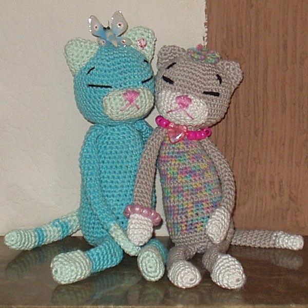 Amineko Cats von Regulli » Stricken lernen, Häkeln lernen mit ...