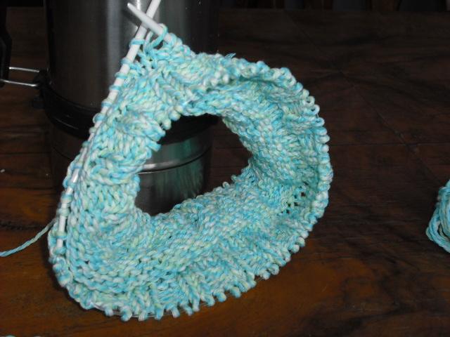 Möbius-Schal von Bärbel | Stricken und Häkeln mit eliZZZa