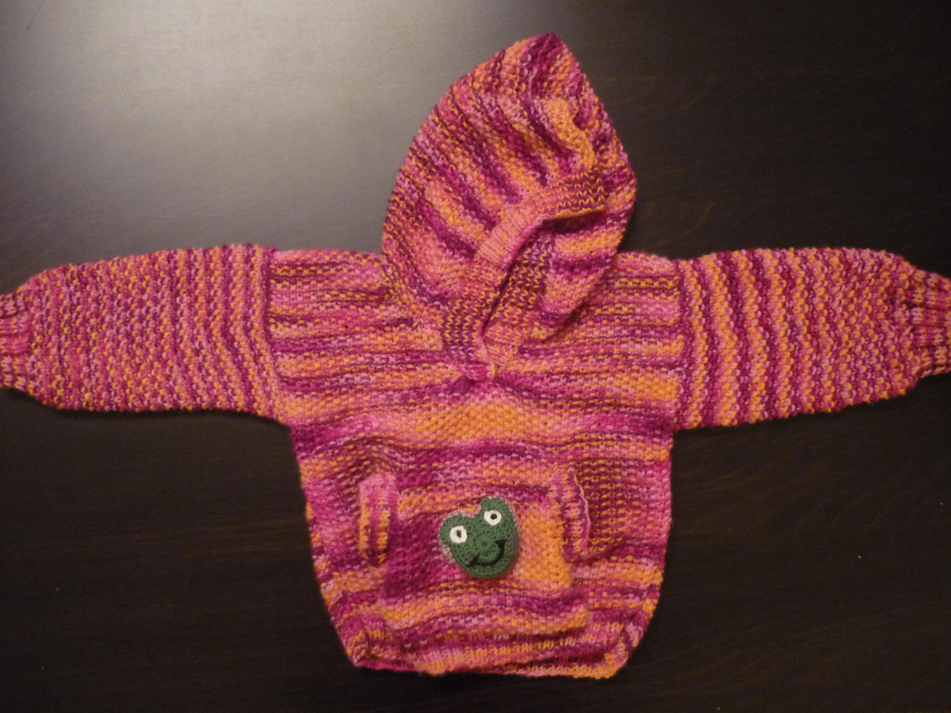 Strickmonsters erster Pullover | Stricken und Häkeln mit eliZZZa