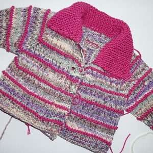 "Stricken: Super Easy Babyjacke ""eliZZZa"""