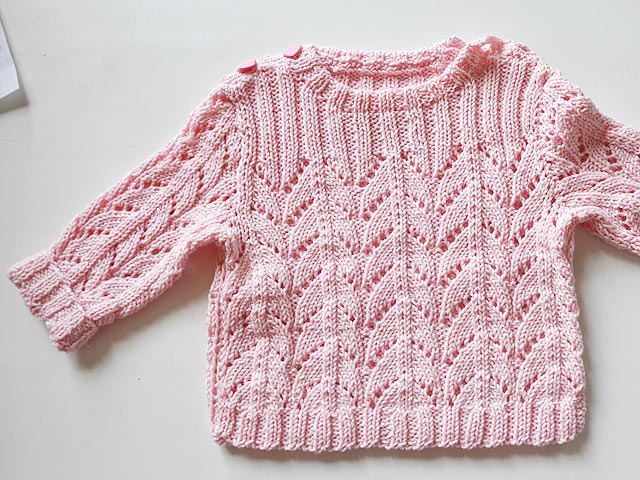 anleitungen f r babyj ckchen babypullover in arbeit stricken und h keln mit elizzza. Black Bedroom Furniture Sets. Home Design Ideas