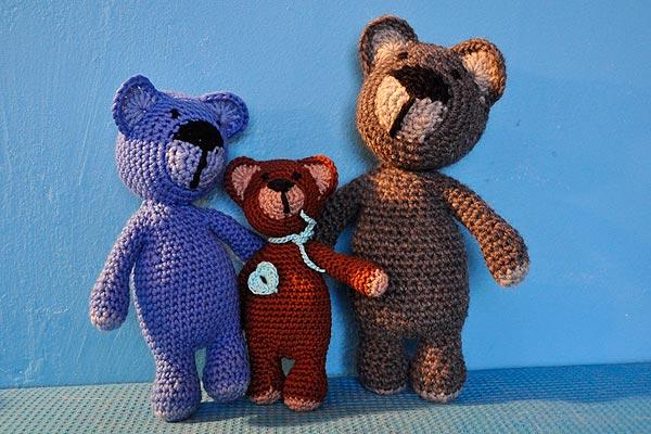 Amigurumi Bärenfamilie