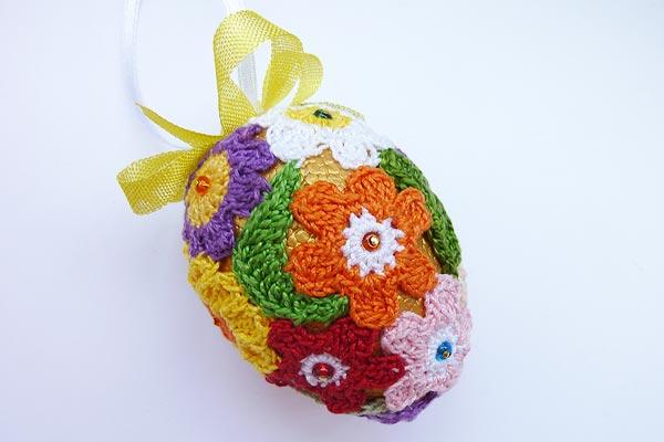 Häkeln Für Ostern Patchwork Eier Stricken Und Häkeln Mit Elizzza