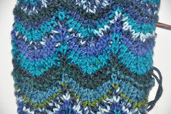 Knitting Chevron stitch Missoni style – Stricken lernen, Häkeln ...