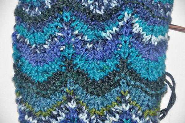 Knitting Chevron stitch Missoni style » Stricken und Häkeln mit eliZZZa