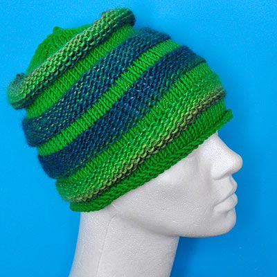 Knitted Hat Top Down