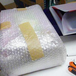 Und noch ein Päckchen von Chiku - ganz dick verpackt...