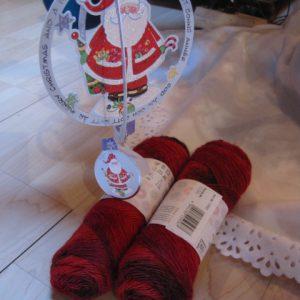 Sockenwolle & besondere Weihnachtskarte von Marie