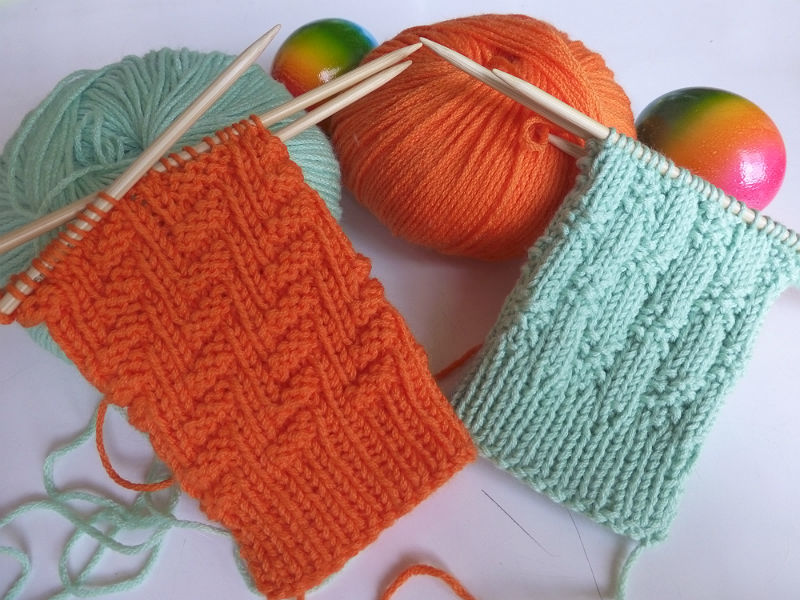 Beautiful Kostenlos Stricken Zopfmuster Component - Decke Stricken ...