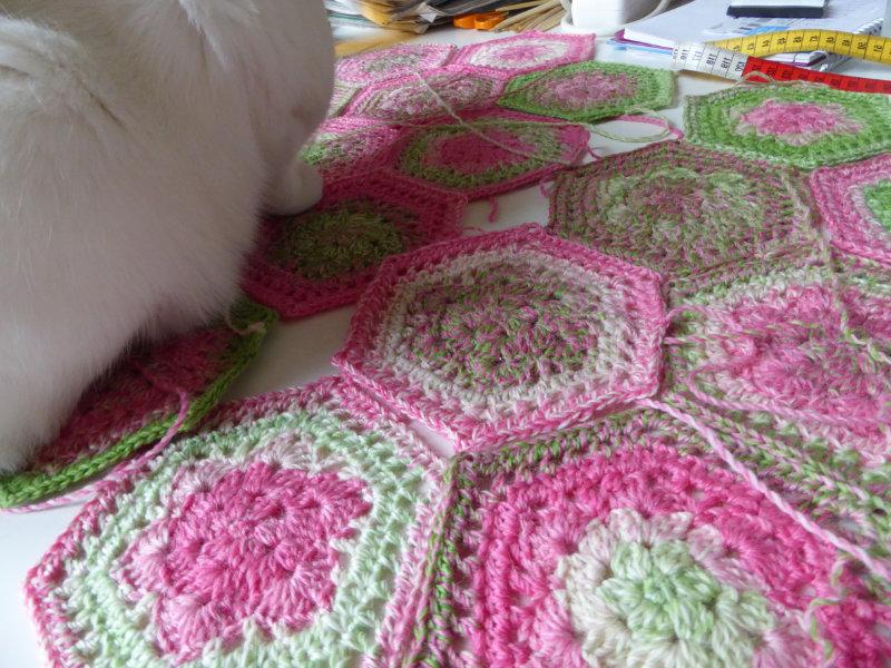 Häkeln Mit Elizzza Hexagon Durch Die Blume Stricken Und Häkeln